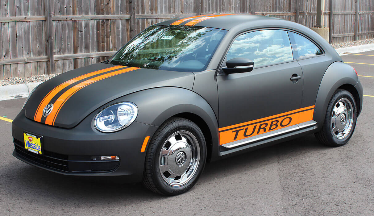 VW Turbo Vehicle Vinyl Wrap