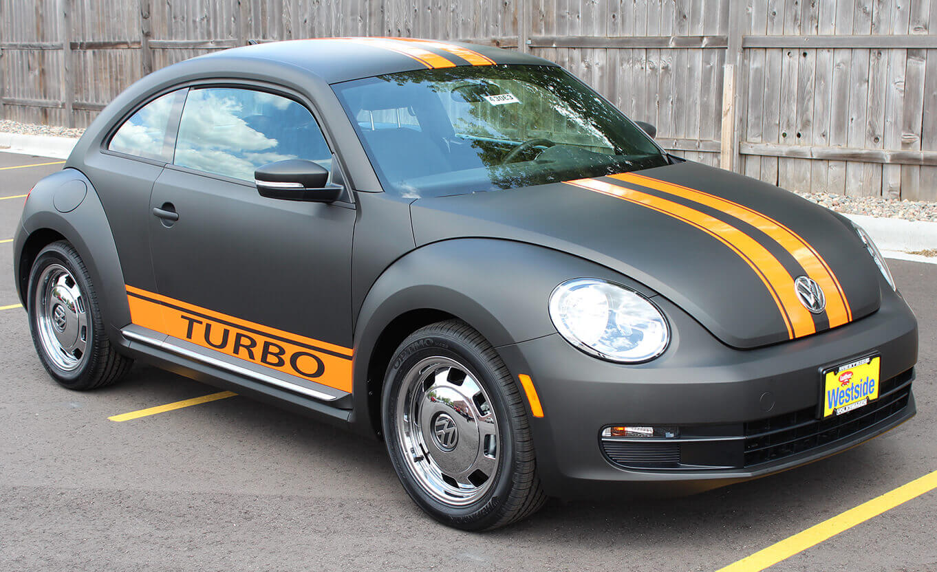 VW Beetle Turbo Vehicle Vinyl Wrap