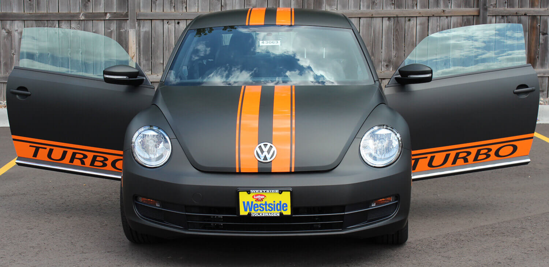 VW Beetle Vinyl Wrap