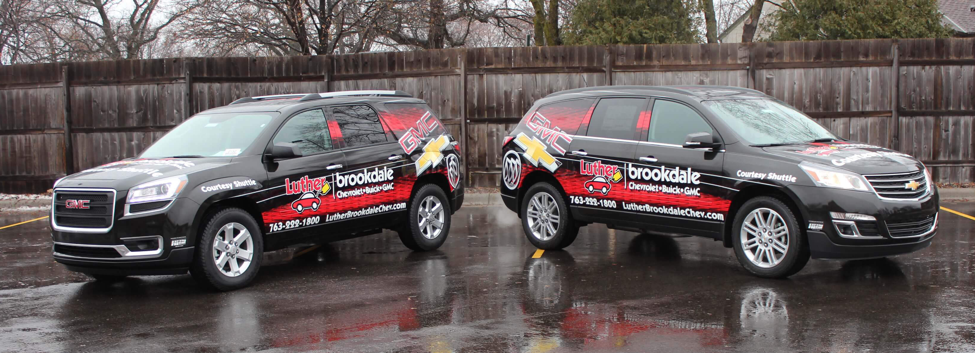Luther Brookdale Vehicle Vinyl Wrap
