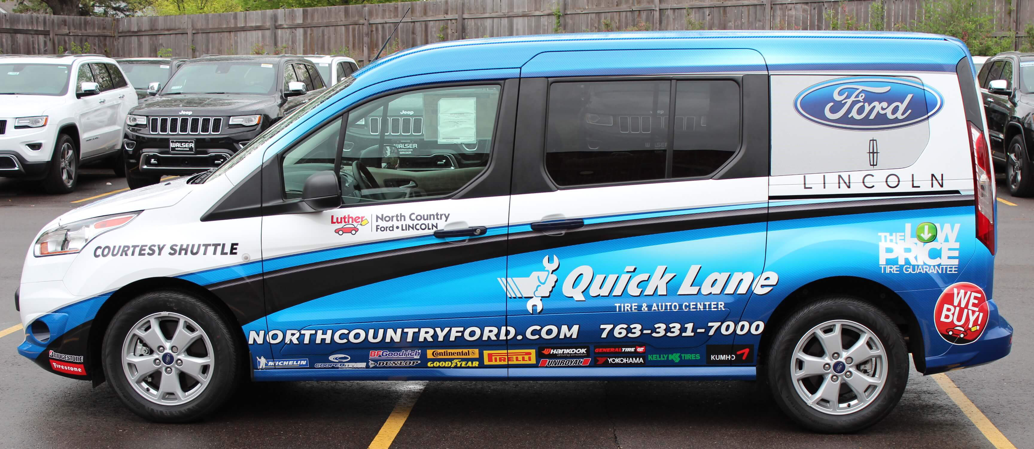 North Country Ford Vehicle Wrap