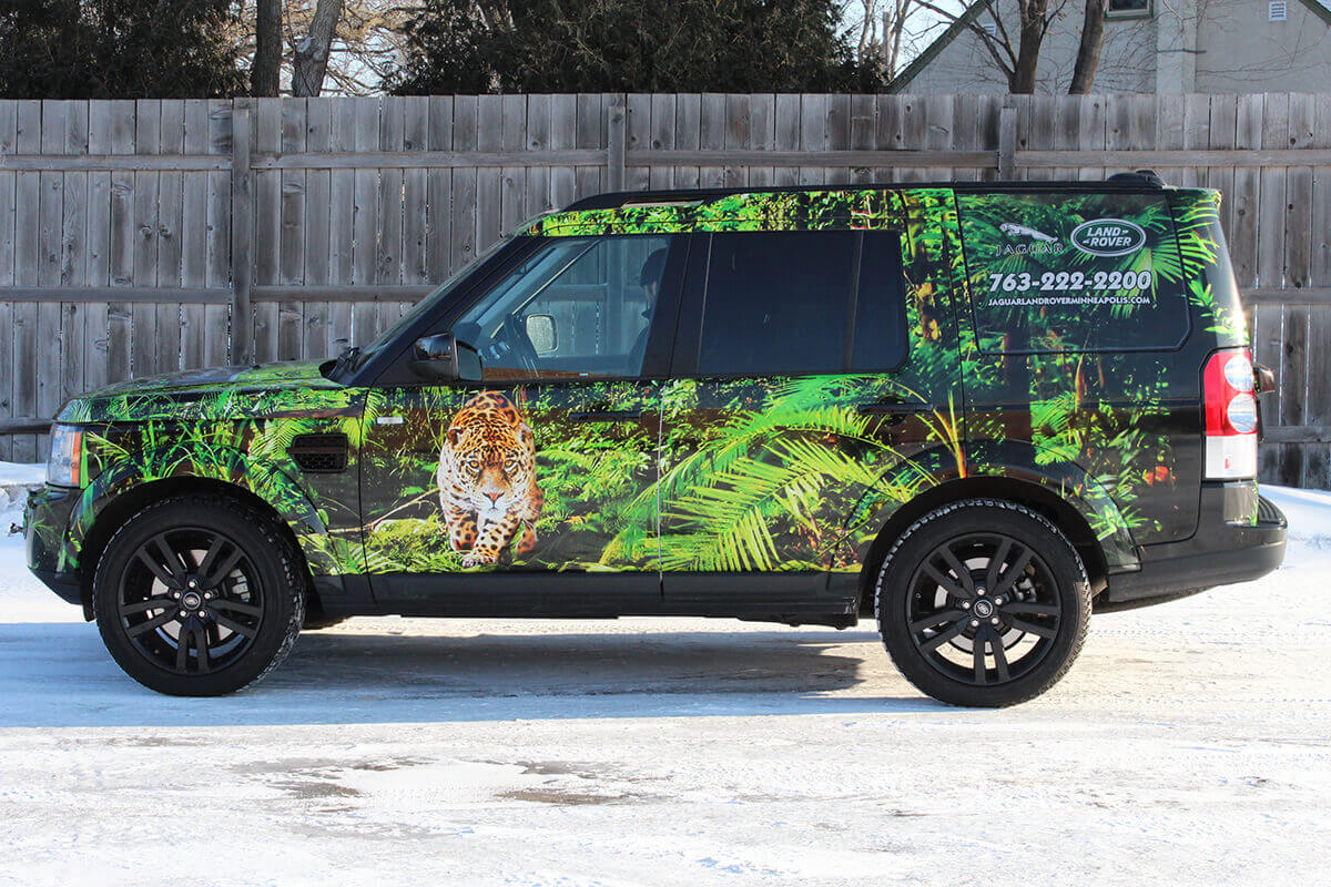 Jaguar Land Rover Vehicle Wrap - Side