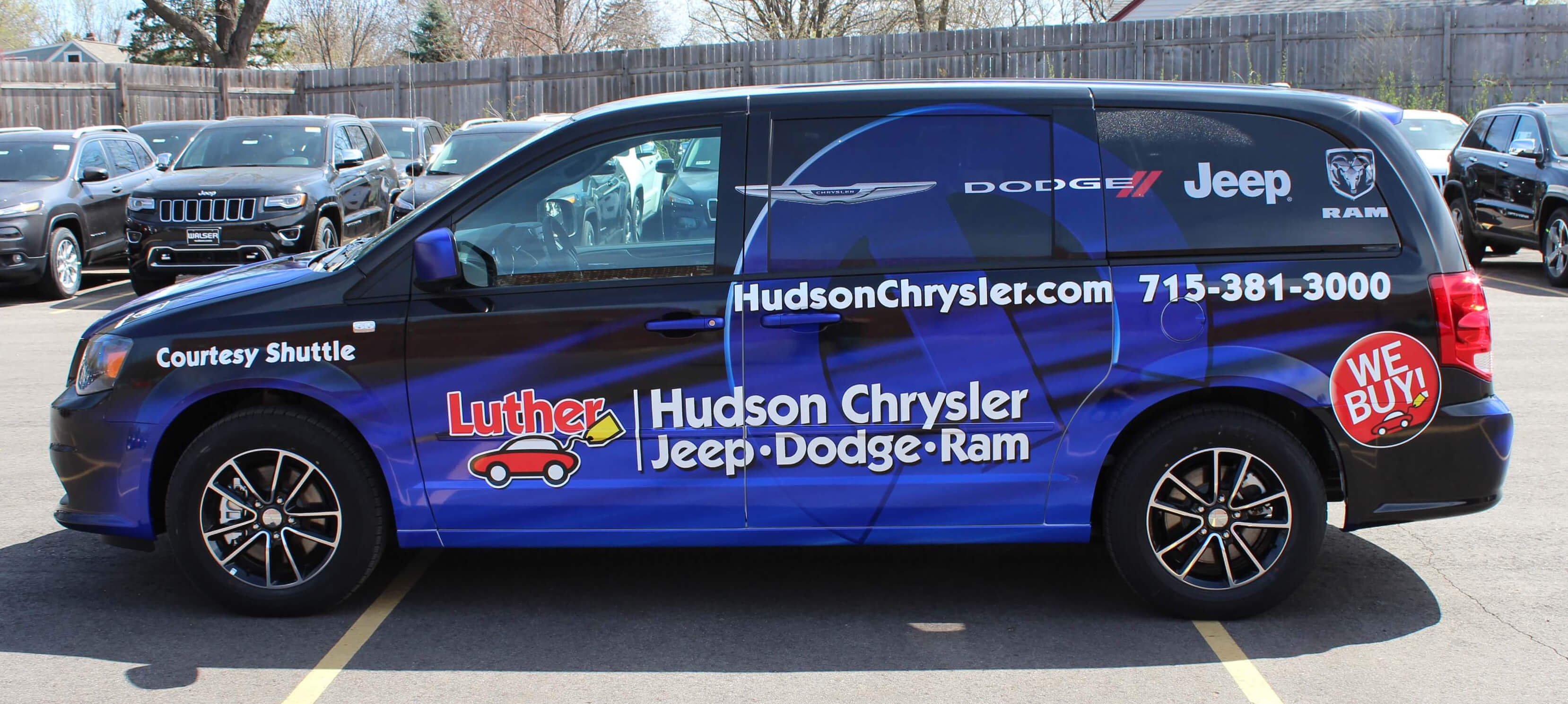 Luther Hudson CJDR Shuttle Wrap