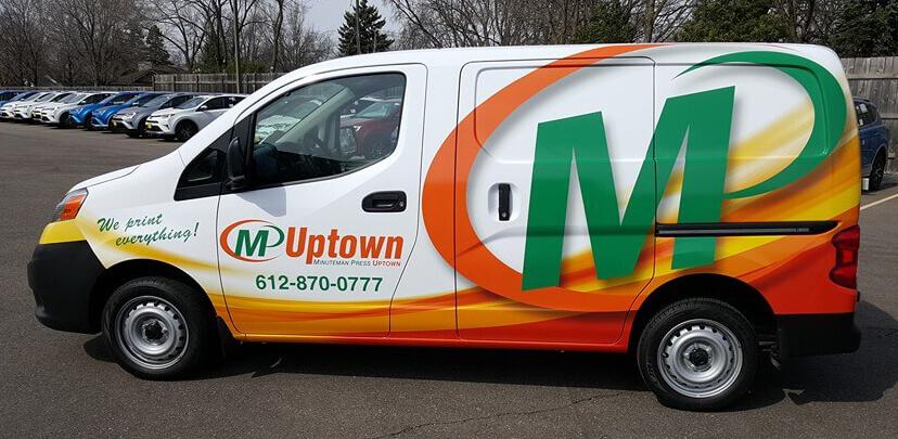 M Uptown Vinyl Wrap