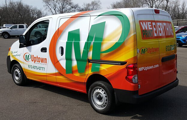 Uptown Vinyl Vehicle Wrap