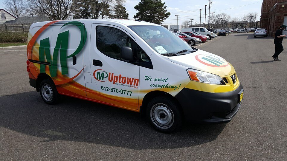 Uptown Vinyl Vehicle Wrap - Side