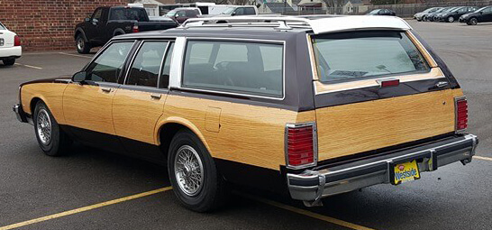 Station Wagon Vehicle Vinyl Wrap
